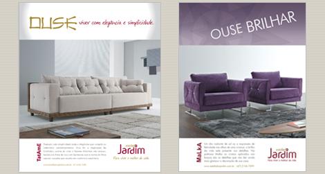 Destaques da coleção 2011 nas revistas KAZA e HALL no mês de abril