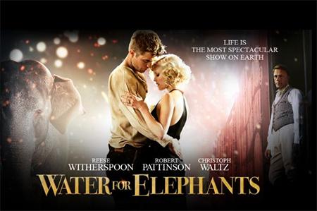 Sessão cinema: Água para Elefantes