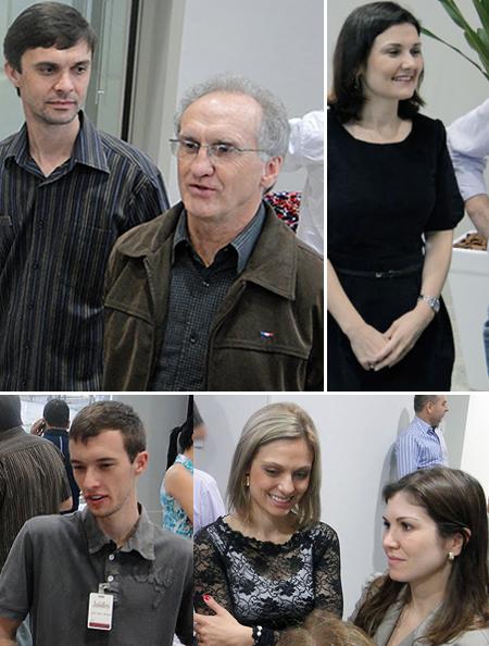 Família Stähelin recepciona convidados no novo showroom