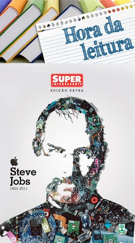 Hora da Leitura: biografia de Steve Jobs