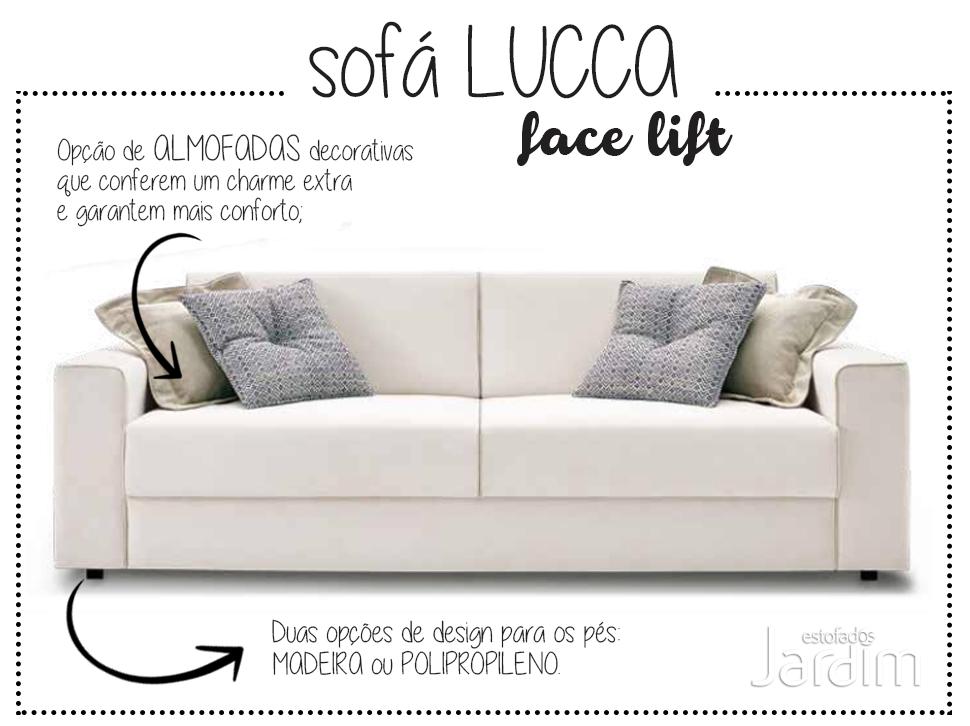 Tem novidade no sofá Lucca!