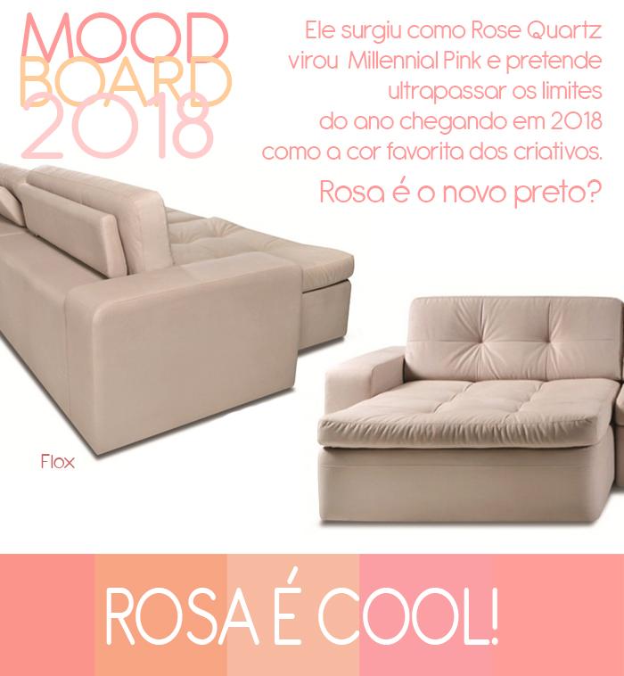 Moodboard 2018: rosa
