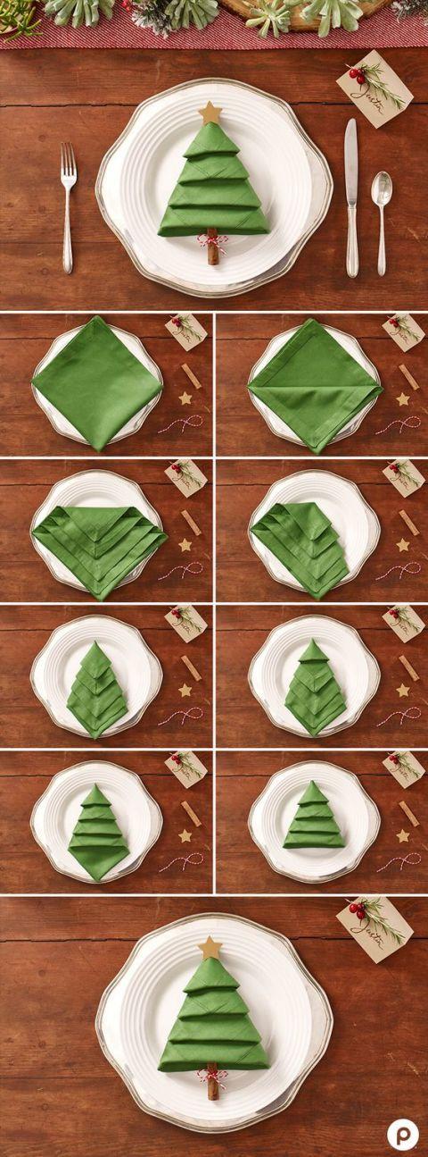 Especial Natal: guardanapo