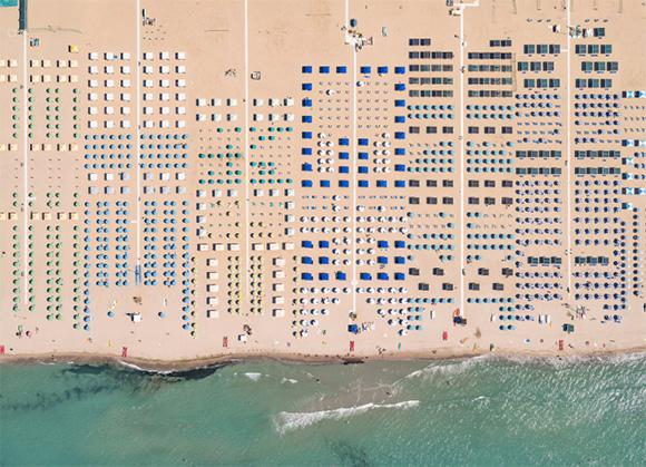 Fotografia: Raio-x da praia