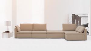 sofá em sala pequena