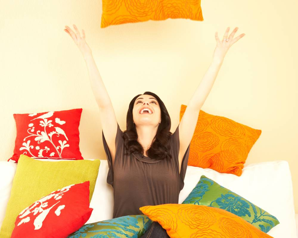 Complementando a decoração! Como usar as almofadas em sua sala.